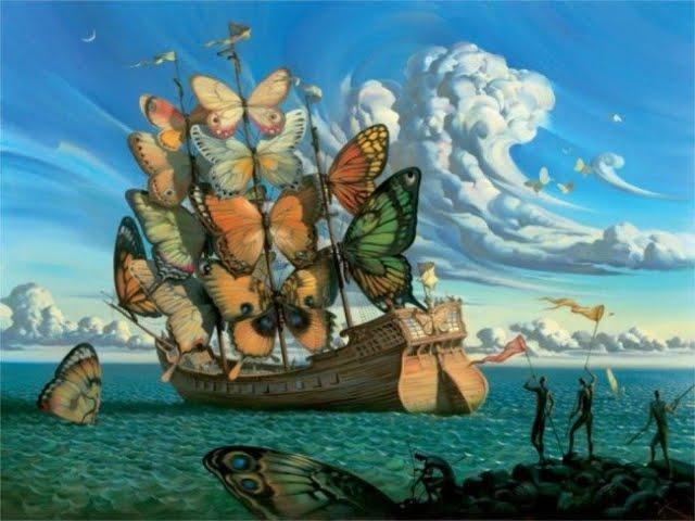 Dalí Barco  mariposas