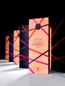 Cuvee Rose Laurent Perrier Navidad
